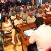 Assemblea multitudinària de pagesos del Parc Agrari per debatre com fer front a les hipotètiques expropiacions d'Eurovegas