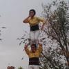 Els Castellers de Castelldefels celebren el seu 30è aniversari amb 30 pilars per tot el municipi