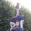 Els Castellers d'Esplugues avancen amb seguretat per fer el salt als castells de 8 pisos