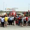 La plantilla de Cobega no aturarà les protestes fins que l'empresa augmenti l'IPC als sous