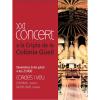 Arriba el XXI Concert a la Cripta de la Colònia Güell