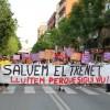 Tornen les protestes a Sant Andreu de la Barca contra el tancament de l'escola bressol El Trenet