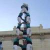 Olesa de Montserrat inaugura plaça castellera en el marc dels actes de la Diada