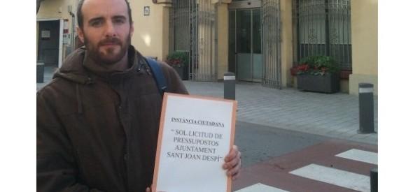 Una iniciativa ciutadana denuncia la manca de transparència de l'Ajuntament de Sant Joan Despí