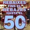 Els comerciants preveuen que les vendes per rebaixes es redueixin un 5% respecte l'any passat