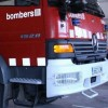 Restablert el trànsit a la B-40 a Abrera un cop extingit l'incendi de vegetació, que ha cremat 1,2 hectàrees
