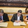 L'Ajuntament i les associacions empresarials del Prat signen convenis per impulsar el desenvolupament econòmic i social del municipi