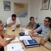 El candidato del PSC Eduard Rivas se reúne con UGT y CCOO del Baix Llobregat