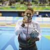Centenars de persones van donar la benvinguda a Núria Marquès en el seu retorn a Castellví després dels Jocs Paralímpics