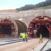 En marxa les obres del fals sostre dels túnels de la variant de Vallirana