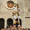Els Castellers de Castelldefels fan història al 4rt aniversari dels Encantats de Begues