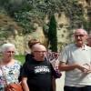Diverses entitats memorialistes homenatgen les víctimes del franquisme en un acte al cementiri de Montjuïc