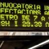 Els treballadors del metro de Barcelona acorden desconvocar la vaga