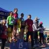 Radouane Nour i Raquel Parrado Romero, campions en els 10 km de la 6a Sansi de Sant Feliu de Llobregat