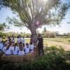 L'estand municipal de la Fira Avícola, dedicat als 30 anys d'educació ambiental