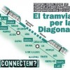 Guanya el suport popular a la unió del tramvia per la Diagonal, segons una enquesta del consistori barceloní