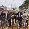 S'obre a la circulació el nou carril bici que connecta Esplugues amb Barcelona