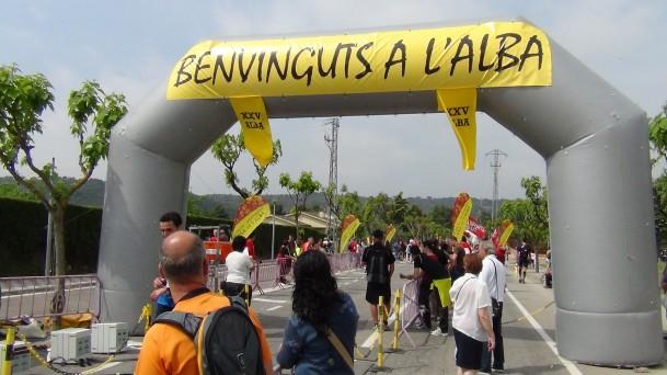 XXV Cursa de l'Alba a Collbató