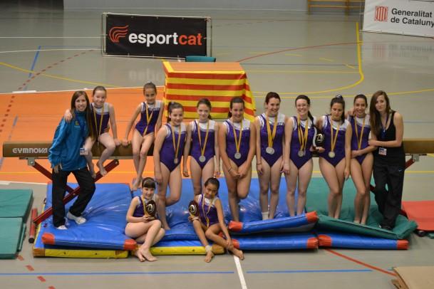final catalana gimnàstica artística Abrera