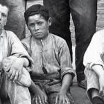 Nens treballadors de la Colònia Güell