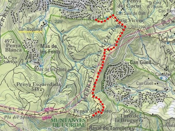 Itinerari (mapa ICC)