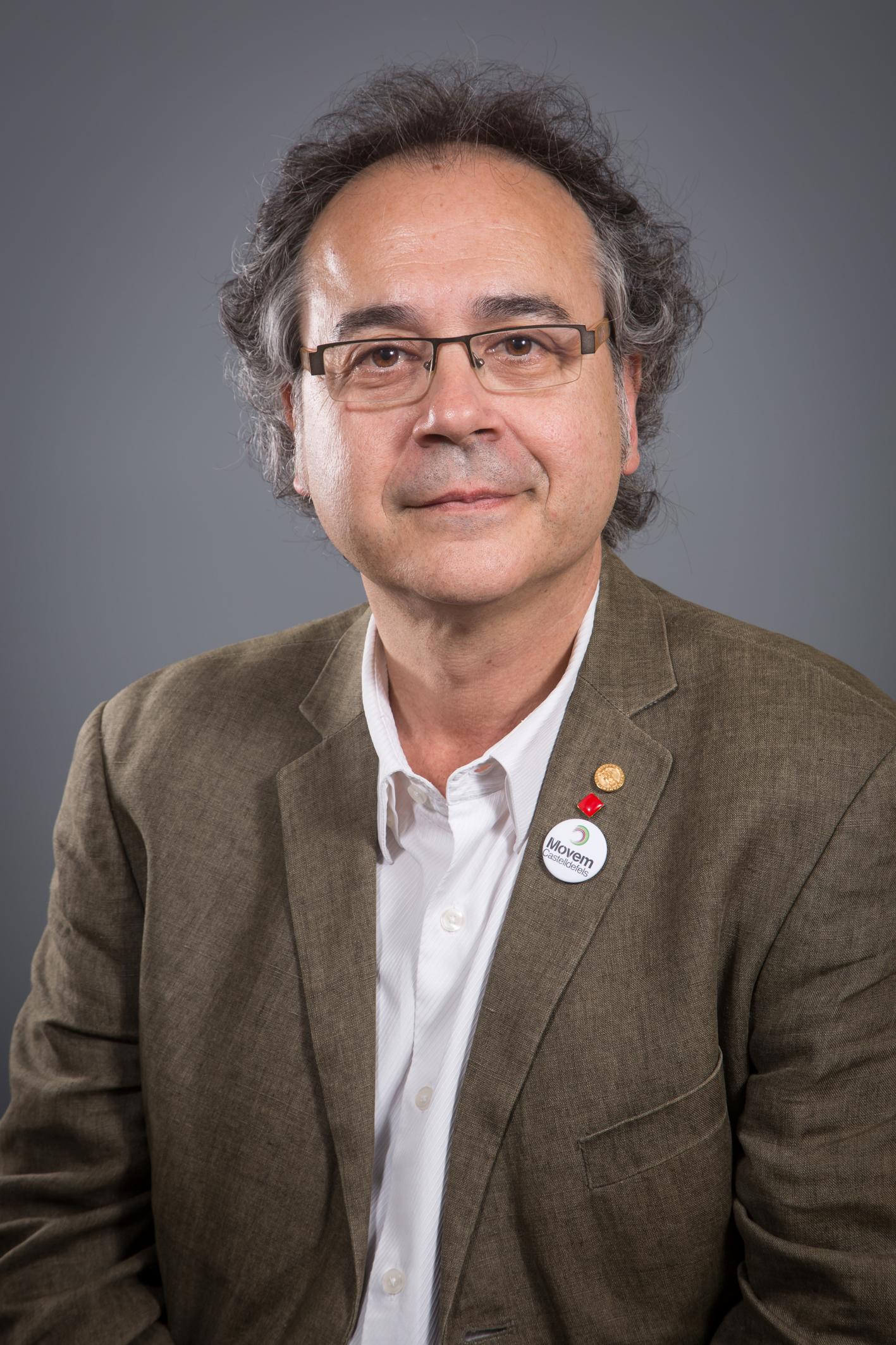 Jordi Miralles i Conte. Font: Ajuntament de Castelldefels