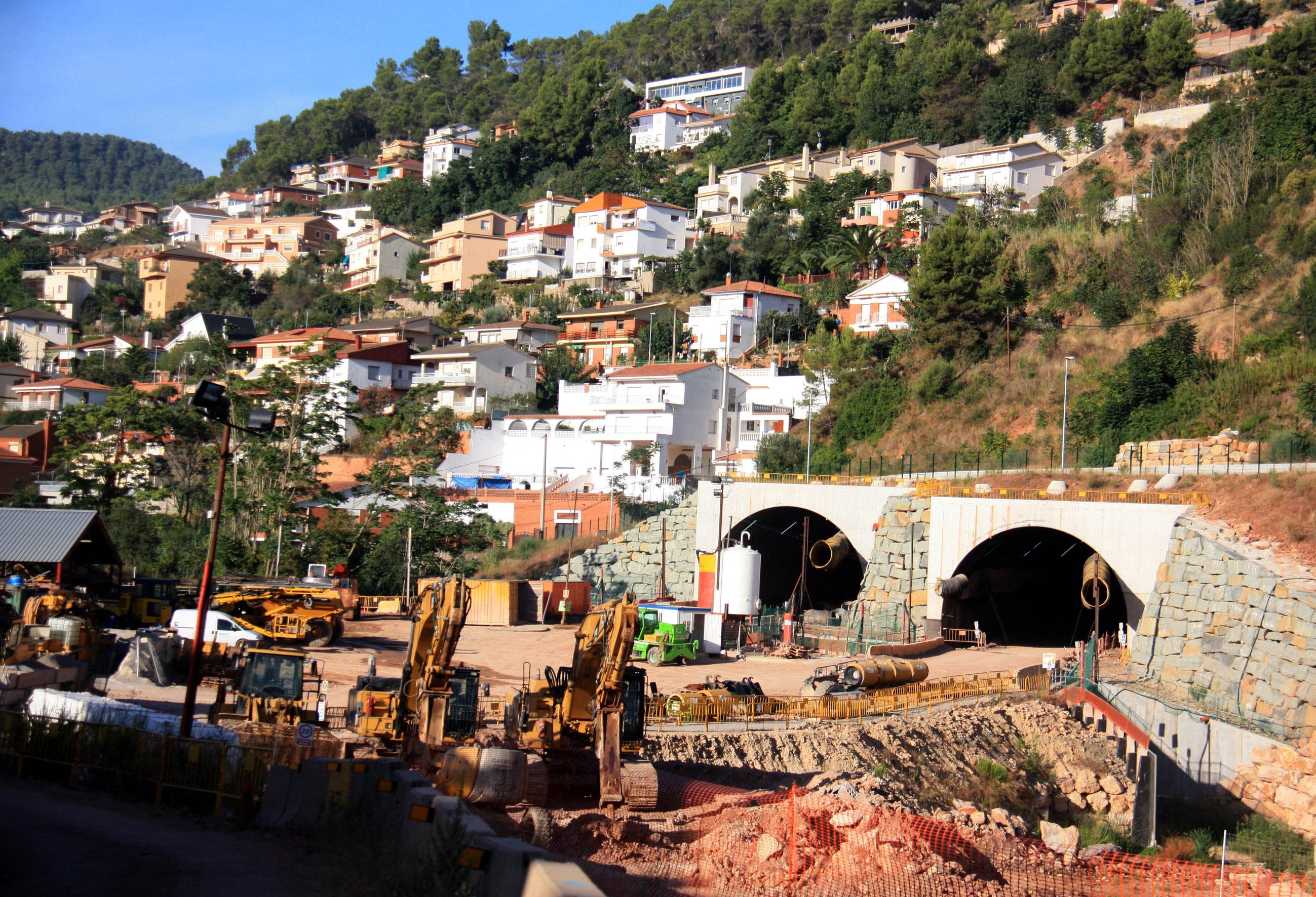 vallirana tunel N340